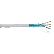 SCHNEIDER ACTASSI  CAT 5E 4-PAIR UTP CABLE 305MTR/REEL, WHITE LSZH